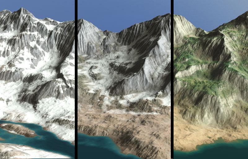Terrain animation