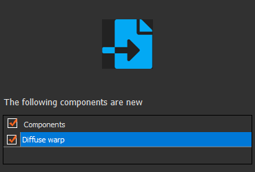 Import components