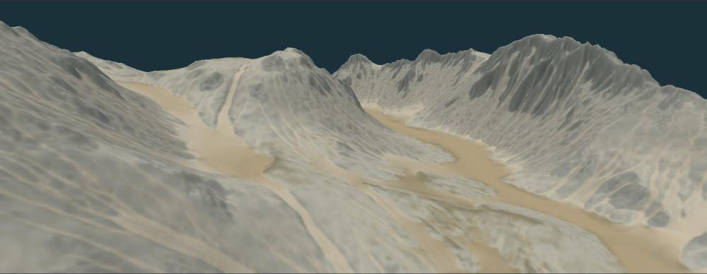 Multi-scale erosion with Instant Terra 2.3