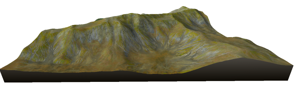 after a mountain aging effect
