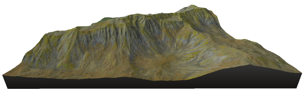 before mountain aging effect